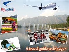 Srinagar is nestled in the lap of Himalayas and attracts thousands of tourist all-round the year. There are various cheap flights to Srinagar that connects it the capital city such as Air India, jet airways, spice jet, Go air, and Indigo. Domestic Airlines, Jet Airways, Lowest Airfare, Air India, Srinagar, Online Travel, Travel Companies, Cheap Flights, Capital City