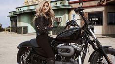 most beautiful biker girl wallpaper