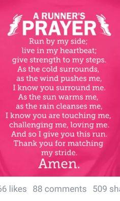 A runners prayer
