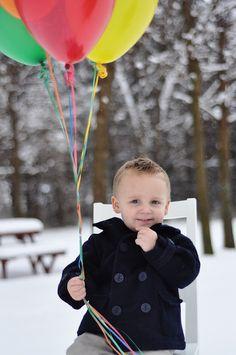 balloons for birthday photos