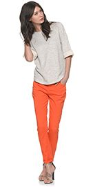 Really love these orange trousers from the Whistles website.