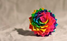 Neon Rainbow Duct Tape Rose Ring Hair  If you like Duct Tape please follow our boards!