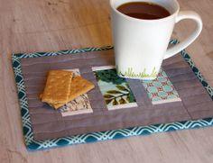 beckandlundy: mug rugs