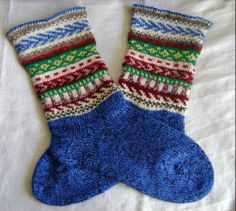 """Socks """"Spring""""  Closing Sock has been linked as a heel, and then sew"""