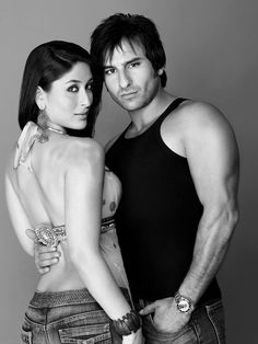 Here is the first ever photoshoot of Saif Ali Khan & Kareena Kapoor in Was this where it all started? Kareena looks gorgeous as ever, and S. Saif Ali Khan, Aamir Khan, Poly Couple, Car Engagement Photos, Polyamorous Relationship, Cute Photography, Wattpad, Kareena Kapoor Khan, Couple Aesthetic