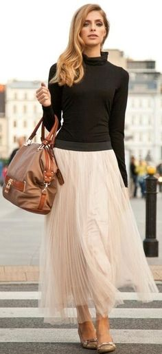 Maxi skirt - ballerines