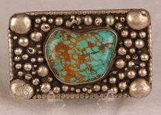 Turquoise - Belt Buckle
