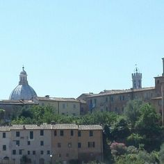 #wiew from our #rooms in #Siena #holiday #madeinitaly #tuscany