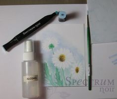 use your Spectrum Noir Pens to create a watercolor look