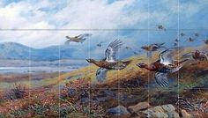 Driven-Grouse-Tile-Mural-Kitchen-Bathroom-Wall-Backsplash-29-75x17-Ceramic