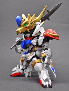 BB Senshi Musha Gundam Barbatos Lupus - Custom Build Modeled by センサー