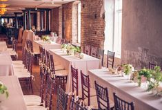 Historic Rice Mill Building wedding with art deco theme - see more at http://fabyoubliss.com | Charleston Stems