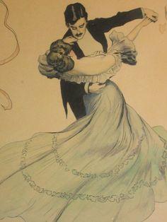 The waltz - beauty, elegance, and grace on the dance floor.    (Ballroom Dance, DanceSport)