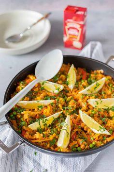 Vegetarian Recipes Dinner, Veggie Recipes, Lunch Recipes, Rice Recipes, Healthy Diners, Go Veggie, Risotto, Big Meals, Happy Foods