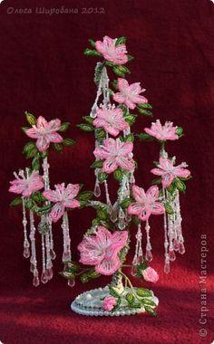 Мастер-класс Поделка изделие Бисероплетение  Розовые сны + мк часть I Бисер фото 1