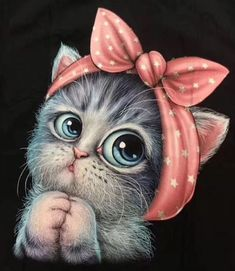 Cute Baby Animals, Animals And Pets, Cat Posters, Cat Drawing, Pretty Cats, Cute Cartoon, Cool Cats, Cat Art, Cute Wallpapers