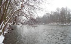 Reading, PA : Wintertime Schuylkill River