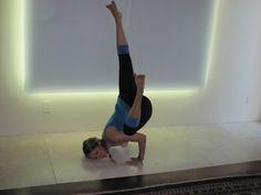 Kathryn Budig Challenge Pose: Fallen Angel