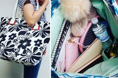 Flower Tote Bag- 3 Colors!    Your new Go-To!    72% OFF