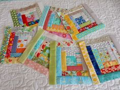 After making a scrappy trip around the world quilt in 2013 and two scrap quilts this summer (my...
