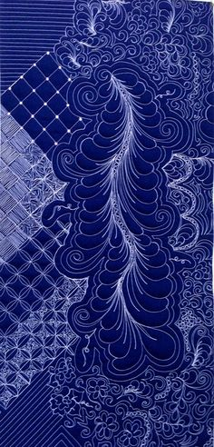 Feathers and Flourishes, a half-day class by Karen L. Sievert at Road to California (2014)