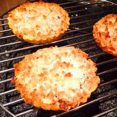 Mini coconut jam tarts