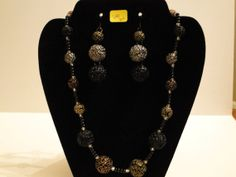 Necklace and Earring Set by KelsysCharm on Etsy, $18.00