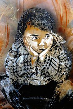 street art - Vitry-sur-seine - rue de l'abbé roger derry