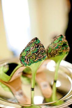#green #shoes #brayola