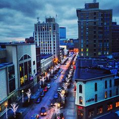 Downtown night in Grand Rapids...I love the west side of Michigan