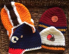 A personal favorite from my Etsy shop https://www.etsy.com/listing/206299114/cleveland-sports-teams-theme-crochet
