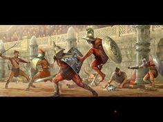 ¿Sabes cómo era la vida en las escuelas que formaban a los gladiadores? Descúbrelo aquí