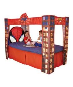 Image detail for -SPIDER-MAN Bed Canopy Childrens Bedding - review, compare prices, buy ...