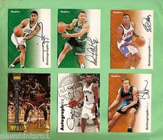 #5. lot of six nba #basketball #signed #cards,  View more on the LINK: 	http://www.zeppy.io/product/gb/2/330923719243/