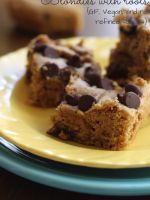 Blondies with roots and a sweet giveaway