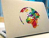 macbook Pro decal stickers Macbook Air 11 decals Rainbow macbook sticker decal  skin macbook decals sticker Laptop mac decal sticker