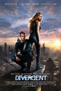 Official Divergent poster! Ahhh I can't wait for this movie to come out!!!