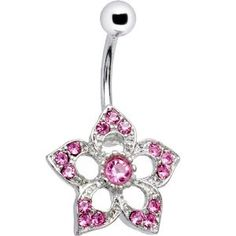 I absolutely love this belly button ring and currently have it in!  It looks cute and didnt irritate my naval piercing at all. http://www.amazon.com/dp/B000RPWVO6/ref=nosim?tag=x8-20