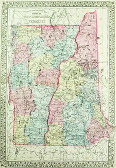 The Midwest Map United States USA Maps Pinterest United - Vermont physical map usa