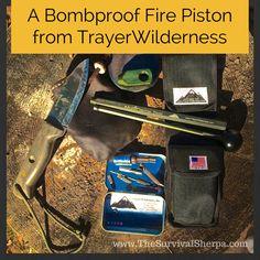 Finally! A Bomb-Proof Fire Piston | www.TheSurvivalSherpa.com  #Bushcraft #Gear