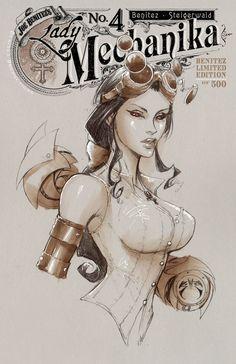 Lady Mechanika 4D | Benitez Productions