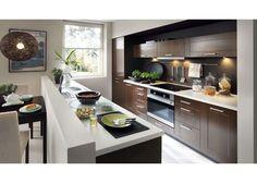 New Kitchen Set Edan with Lights Cherry Malaga Kitchen Units, New Kitchen, Kitchen Dining, Kitchen Island, Kitchen Cabinets, Kitchen Ideas, Malaga, Classic Furniture, Living Room Sets