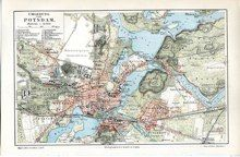 potsdam map german $SOLD