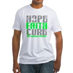 D LYMPHOMA NON D Fitted T-Shirt for