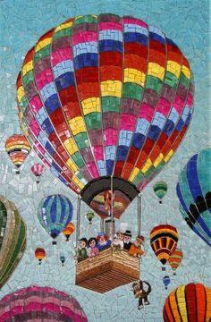 mosaic art by ida Mosaic Tile Art, Mosaic Crafts, Mosaic Projects, Mosaic Glass, Patchwork Quilting, Quilts, Mosaic Pieces, Mosaic Madness, Mosaic Designs