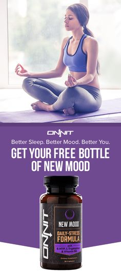 For a limited time only, we're offering you a free bottle of New MOOD—the supplement from Onnit that's designed to help with healthy mood balance and mental stress reduction. Get your FREE bottle today—just cover the shipping.