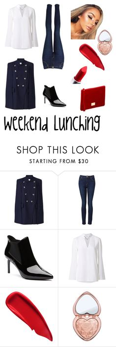 """""""Weekend Lunching"""" by pinkfalmingo on Polyvore featuring Witchery, Sisley and Too Faced Cosmetics"""