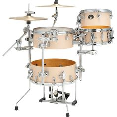 Tama Silverstar 4-Piece Cocktail-Jam Shell Pack with 16 in. Bass Drum Matte Copper Sparkle