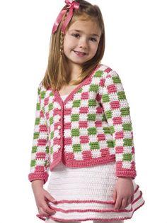 Crochet for Babies & Children - Crochet Kids Clothes Patterns - Sunday Best Free Crochet Pattern