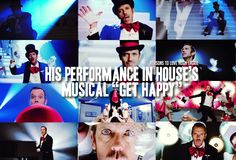 """reasons-to-love-hugh-laurie: """" Reason His performance in House's musical """"Get Happy"""" Read More """" I Love House, House Md, It's Never Lupus, Everybody Lies, Gregory House, Hugh Laurie, Renaissance Men, Get Happy, British Men"""